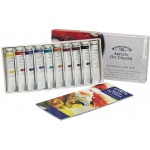Winsor & Newton™ Artists' Oil 10-Color Introductory Set: Multi, 21 ml, Oil, (model 1290139), price per set