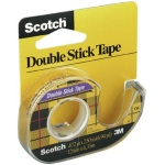 "Scotch® Double-Stick Tape 250"": Dispenser, Double-Sided, 1/2"", (model 136), price per each"