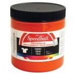 Speedball® 8 oz. Fabric Screen Printing Ink Orange: Orange, Jar, Fabric, 8 oz, Screen Printing, (model 4569), price per each