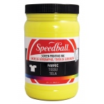 Speedball® Fabric Screen Printing Ink Yellow : Yellow, Jar, Fabric, 32 oz, Screen Printing, (model 4605), price per each