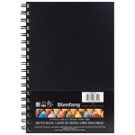 "Bienfang® 6 x 9 Hardcover Sketchbook; Binding: Wire Bound; Format: Book; Quantity: 75 Sheets; Size: 6"" x 9""; Weight: 70 lb; (model 234500), price per each"
