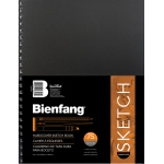 "Bienfang® 9 x 12 Hardcover Sketchbook: Wire Bound, Book, 75 Sheets, 9"" x 12"", 70 lb, (model 234501), price per each"