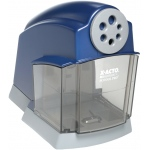 X-Acto® School Pro® Electric Pencil Sharpener: Blue, Six, Plastic, Electric, (model 1670), price per each