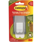 Command™ Sticky Nail Wire Back: White/Ivory, Stabilizer Strips, (model 17048), price per each