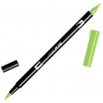 Tombow® Dual Brush® ABT Pen Willow Green; Color: Green; Double-Ended: Yes; Ink Type: Dye-Based; Tip Type: Brush Nib, Fine Nib; Type: Brush Pen; (model 56518), price per each