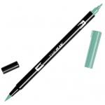Tombow® Dual Brush® ABT Pen Asparagus: Green, Double-Ended, Dye-Based, Brush Nib, Fine Nib, Brush Pen, (model 56520), price per each