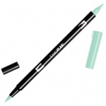 Tombow® Dual Brush® ABT Pen Mint; Color: Green; Double-Ended: Yes; Ink Type: Dye-Based; Tip Type: Brush Nib, Fine Nib; Type: Brush Pen; (model 56526), price per each