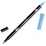 Tombow® Dual Brush® ABT Pen Peacock Blue; Color: Blue; Double-Ended: Yes; Ink Type: Dye-Based; Tip Type: Brush Nib, Fine Nib; Type: Brush Pen; (model 56561), price per each