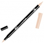 Tombow® Dual Brush® ABT Pen Tan: Brown, Orange, Double-Ended, Dye-Based, Brush Nib, Fine Nib, Brush Pen, (model 56610), price per each
