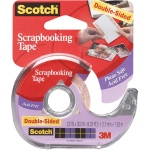 "Scotch® Scrapbooking Tape: Dispenser, Double-Sided, 1/2"", (model 2002), price per each"