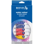 Reeves™ 22ml Watercolor Paint 10-Color Set; Color: Multi; Format: Tube; Size: 22 ml; Type: Watercolor; (model 8490110), price per set