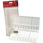 Reeves™ Small Folding Plastic Palette; Material: Plastic; Size: Small; (model 8490527), price per each