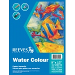 "Reeves™ 9 x 12 Watercolor Pad : Pad, 9"" x 12"", Watercolor, 90 lb, (model 8490530), price per pad"