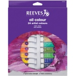 Reeves™ 10ml Oil Color Paint 24-Color Set; Color: Multi; Format: Tube; Size: 10 ml; Type: Oil; (model 8594302), price per set