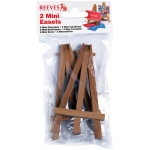 "Reeves™ Mini Easels in Poly Bag; Material: Wood; Size: 4 3/4""; Type: Display; (model 8640939), price per each"