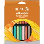 Reeves™ Soft Pastels 24-Color Set; Color: Multi; Format: Stick; Type: Soft; (model 8790175), price per set