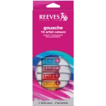 Reeves™ 10ml Gouache Watercolor Paint 12-Color Set; Color: Multi; Format: Tube; Size: 10 ml; Type: Gouache; (model 8793350), price per set