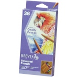 Reeves™ Colored Pencil 36-Color Set; Color: Multi; (model 8910136), price per set