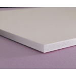 "Elmer's® 48"" x 96"" x 3/16"" Thick Foam Board White 25bx: White/Ivory, Sheet, 25 Sheets, 48"" x 96"", Foam Board, 122 lb, (model 90103), price per 25 Sheets box"