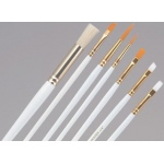 Princeton™ Brush Set Watercolor Acrylic and Tempera Round 1 3 5 and 7: Synthetic, Round, Acrylic, Tempera, Watercolor, (model 9302), price per set