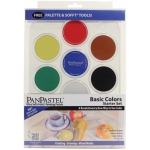 PanPastel® 7-Color Pastel Set Basic Colors: Multi, Pan, Soft, (model PP30071), price per set