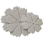 Blue Hills Studio™ Irene's Garden™ Chipboard Die-Cut Stack Pack Set J: Black/Gray, Chipboard, 55 mm - 62 mm, 75 mm - 80 mm, Dimensional, (model BHS49), price per pack