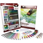 Royal & Langnickel® Essentials™ Deluxe Watercolor Mixed Media Art Set; Color: Multi; Format: Tube; Size: 12 ml; Type: Watercolor; (model RD855), price per set