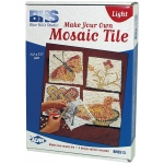 Blue Hills Studio™ Make Your Own Mosaic Tile - Light; Color: Multi; Material: Stone (Cuttable); Type: Tile; (model BHS513), price per set