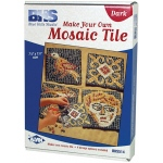 Blue Hills Studio™ Make Your Own Mosaic Tile - Dark; Color: Multi; Material: Stone (Cuttable); Type: Tile; (model BHS514), price per set