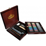 Royal & Langnickel® Premier Pastel Pencil Set: Multi, Pastel, (model RSET-PAS1600), price per set