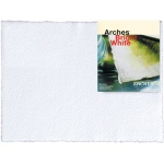 "Arches® 22"" x 30"" 140 lb./300g Cold Press Watercolor Sheets Bright White: White/Ivory, Sheet, 22"" x 30"", Cold Press, (model C100510292), price per sheet"
