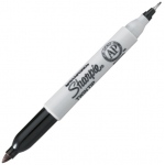 Sharpie Twin Top Permanent Marker: Black