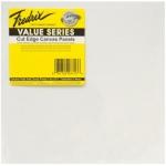 "Fredrix Value Series Cut Edge Canvas Panels: White, 12"" x 12"", Pack of 6"