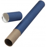 "Alvin® Blue Fiberboard Tubes 43""; Color: Blue; Diameter: 2 1/2""; Length: 43""; Material: Fiberboard; (model T413-43/BX), price per box"