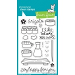 Lawn Fawn Let's Roll Stamp Set