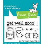 Lawn Fawn Stamp Set: Get Well Soon