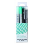 Copic Marker Sets: Doodle Pack Turquoise