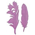 Spellbinders In'Spire Shapeabilities: Feathers On the Wind