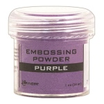 Ranger Opaque/Shiny Embossing Powders: Purple