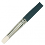 Colour Shaper® Ivory Tip Flat Chisel Brush #16: Silicone, Flat Chisel, Soft, (model 11416), price per each