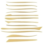 Sculpture House Duron Modeling Tools: Set of 12 Tools