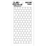 Stampers Anonymous Tim Holtz Honeycomb Layering Stencil