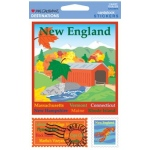 Mrs. Grossman's Destinations Cardstock Stickers: New England