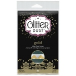 Therm O Web Glitter Dust Photo Corners: Gold