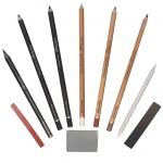 Heritage Arts™ 10-Piece Drawing Set; Type: Drawing; (model HDGSET10), price per set