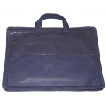 "Alvin® 12"" x 16"" Nylon & Vinyl Tool Case; Color: Blue; Material: Nylon; Size: 10"" x 13""; Type: Case; (model NPK1216), price per each"