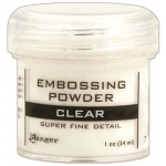 Ranger Basics Embossing Powders: Super Fine Clear