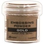 Ranger Basics Embossing Powders: Super Fine Gold
