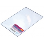 "Richeson Clear Carve™ Clear Carve™ Linoleum 5"" x 7""; Color: Clear; Material: Linoleum; Mounted: No; Size: 5"" x 7""; Thickness: 1/8""; Type: Block; (model 688004), price per each"