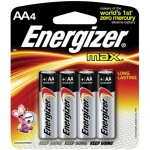 Energizer® MAX® MAX® AA Battery 4pk; Type: Batteries; (model EBC91), price per pack
